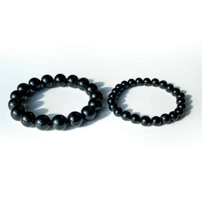 Black Tourmaline 8 & 12mm 2