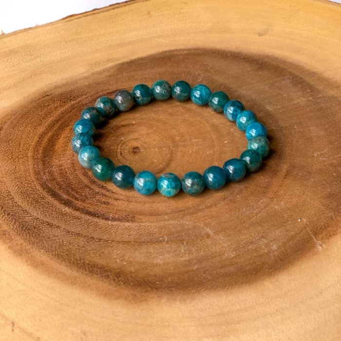 Blue Apatite Gem Bracelet5