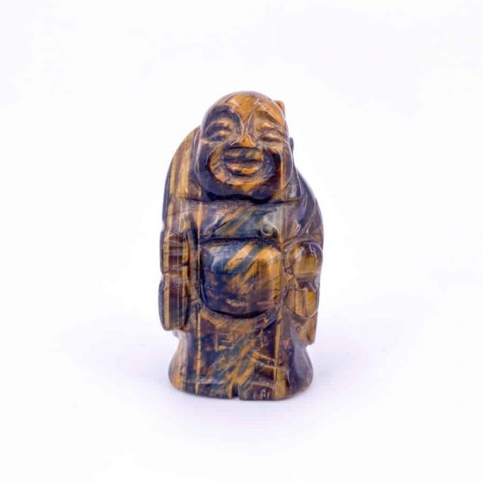 Tiger's Eye Buddha Totem