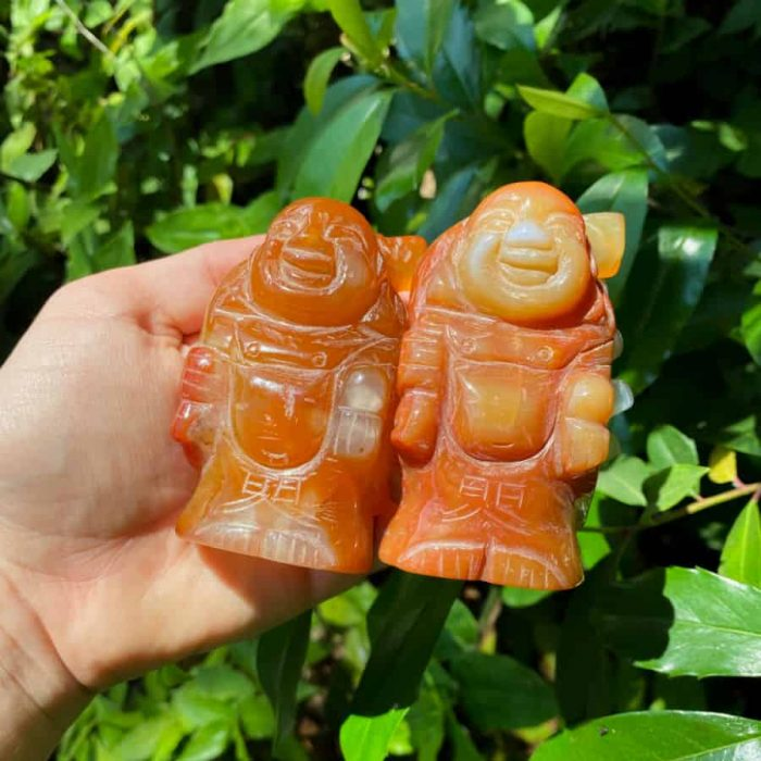 Carnelian Buddha Totem