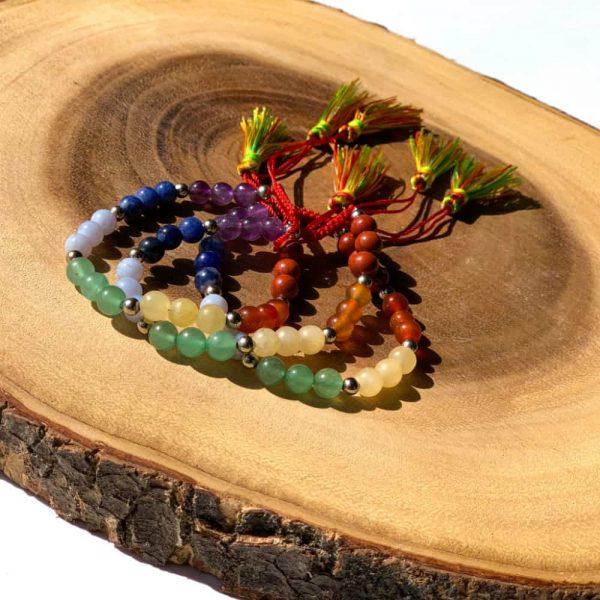 Chakra Gem Bracelets2
