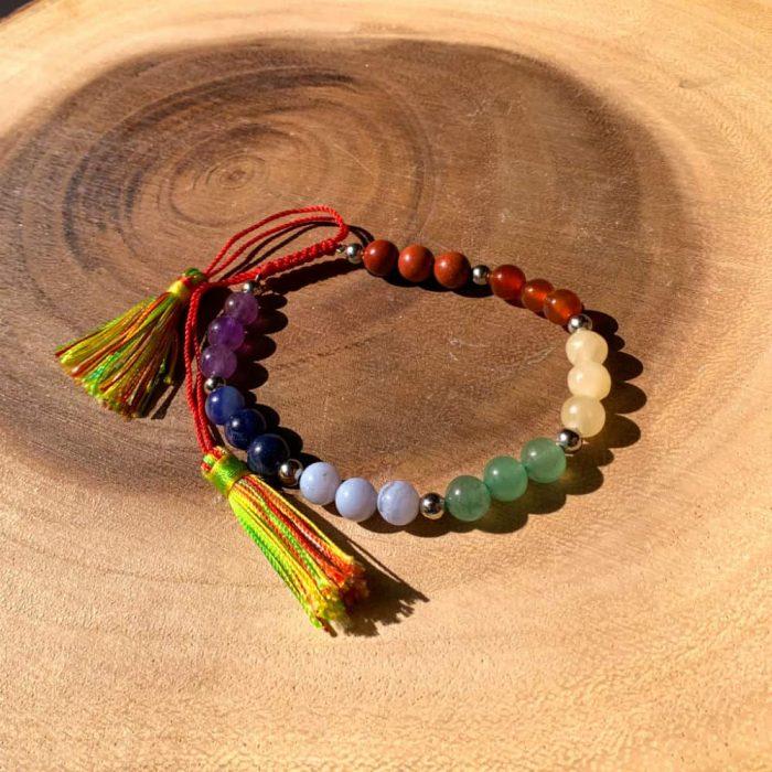 Chakra Gem Bracelets6