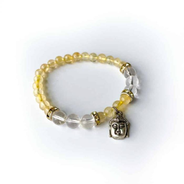 Citrine W: Buddha Charm 2