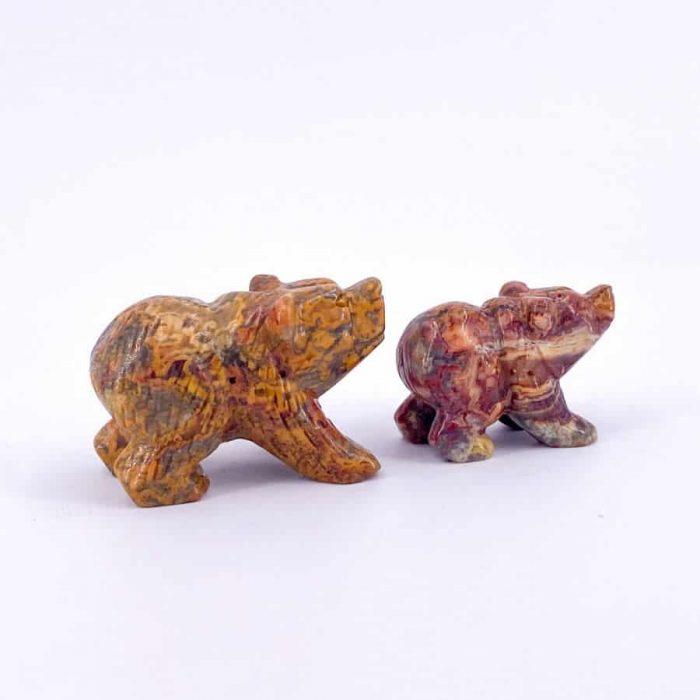 Jasper Bear Totem 2.5in
