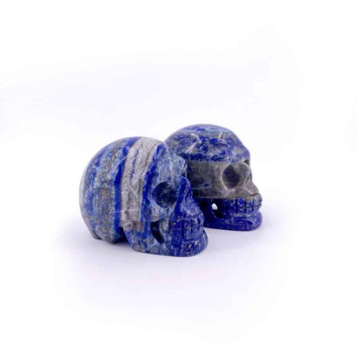 Lapis Lazuli Skull Totem 1.5in