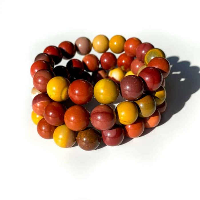 Mookaite Bracelet 12 Mm