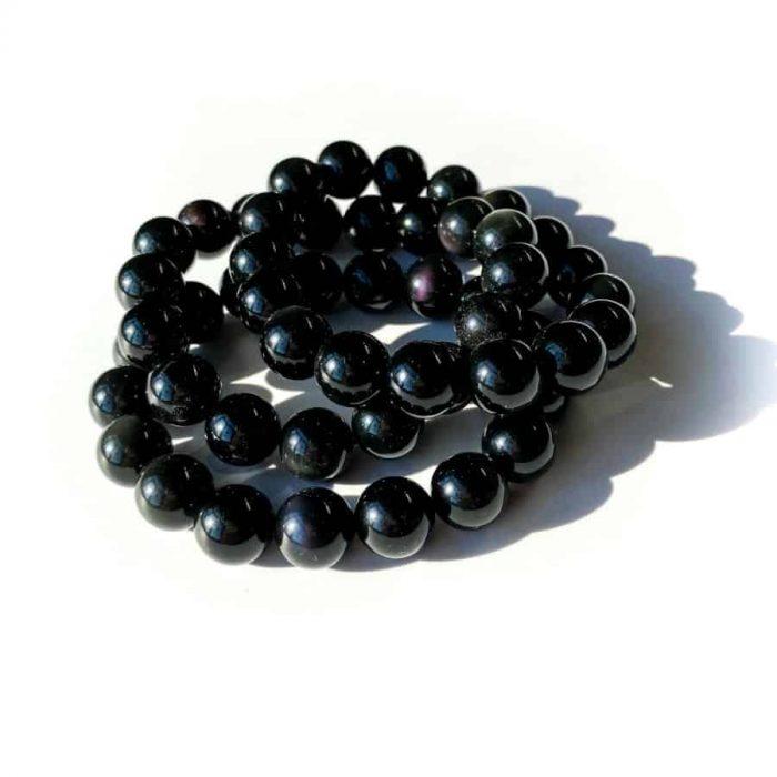 Rainbow Obsidian Bracelet 4mm