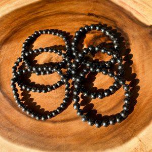 Shungite 6mm Bead Bracelet