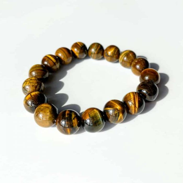 Tiger Eye 12 Mm Bracelet