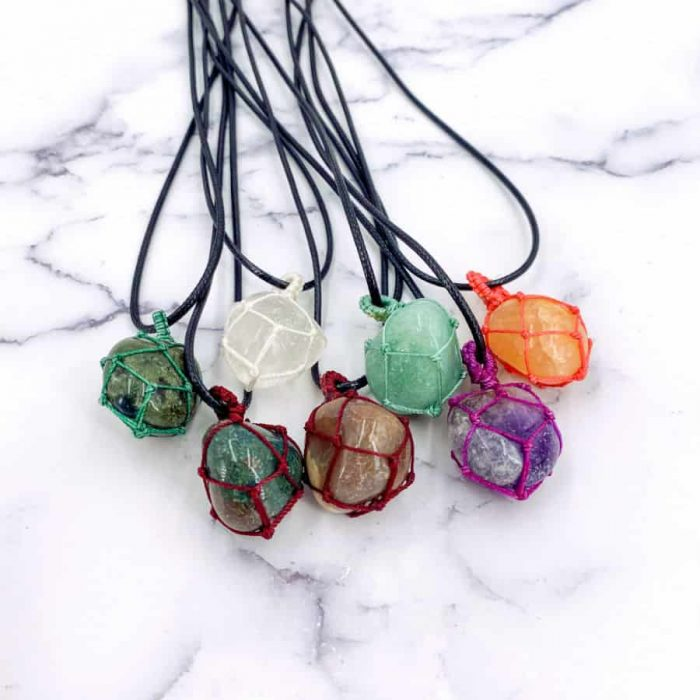 Mystery String Wrap Necklace