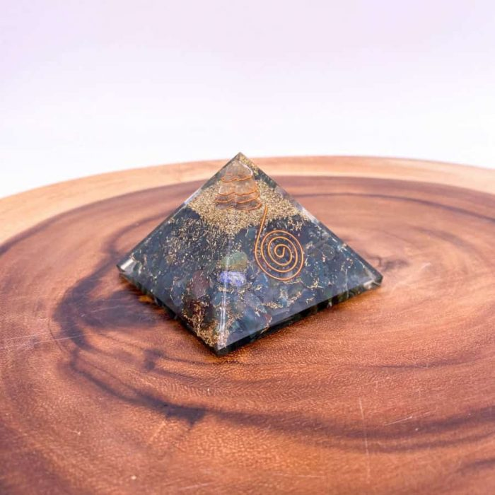 Bloodstone Orgonite Pyramid