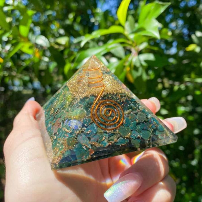 Bloodstone Orgonite 33 W900 H900