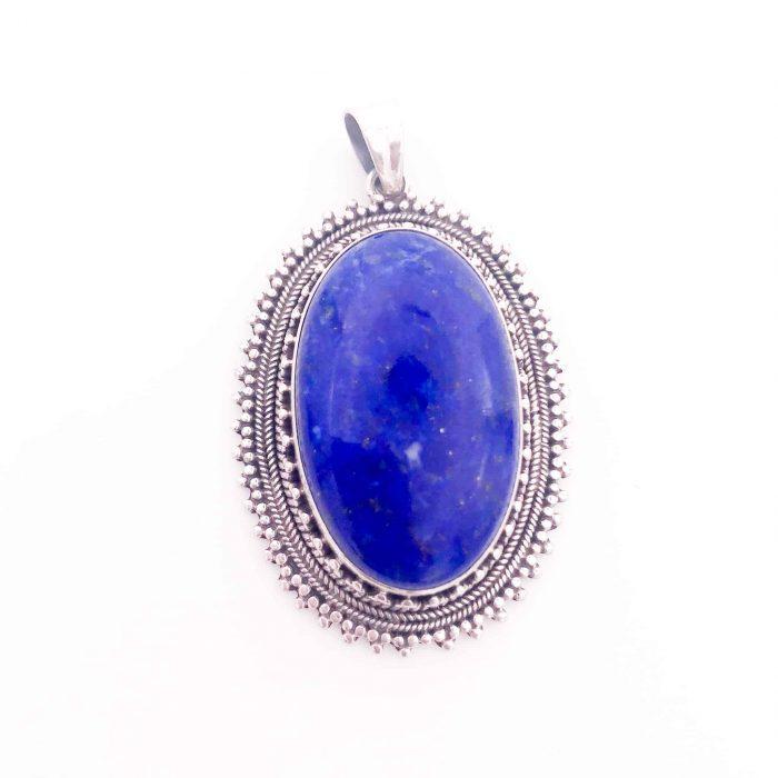 Lapis Lazuli Silver Pendant