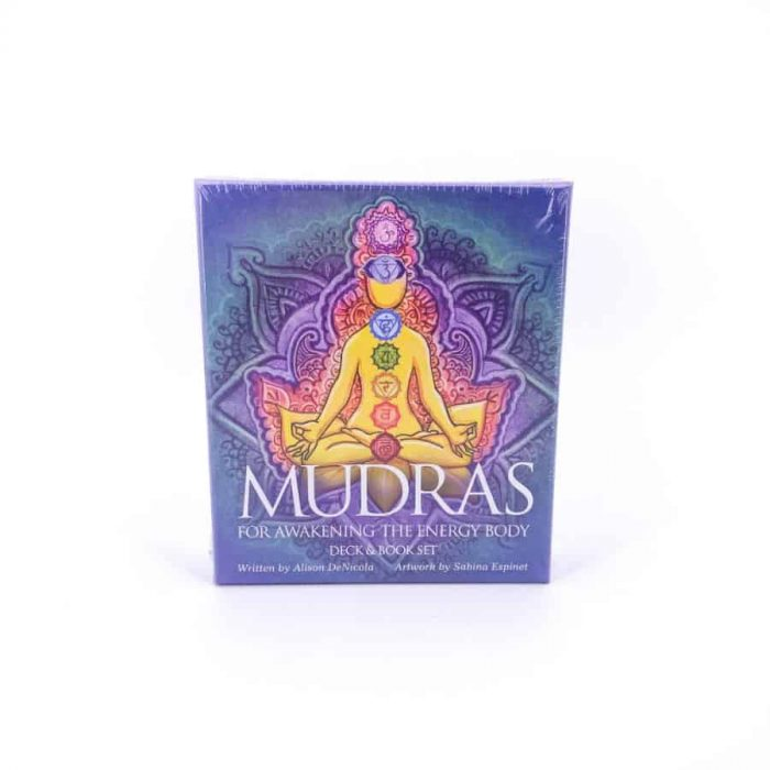 Mudras For The Chakras Oracle Deck