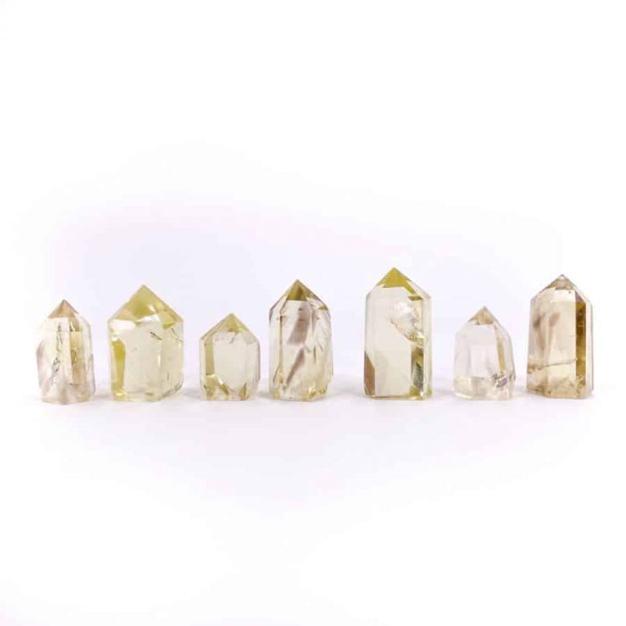 Natural Citrine Tower Points