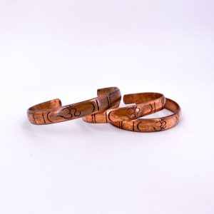 Om Copper Bangle