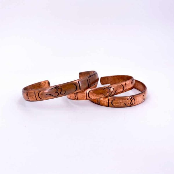 Om Copper Bangle-w900-h900