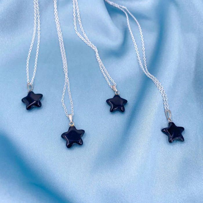 Onyx Star Pendant