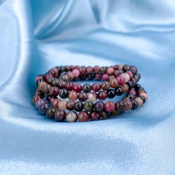 Pink Tourmaline 6 mm Bracelet 1-w900-h900
