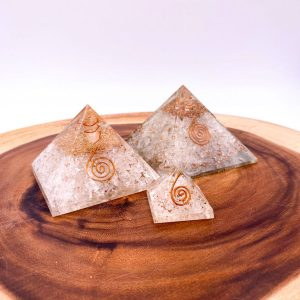 Quartz Orgonite Pyramid