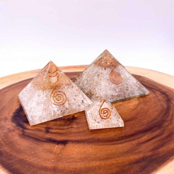 Quartz Orgonite Pyramid