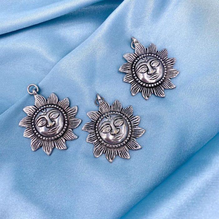 Silver Sun Pendant
