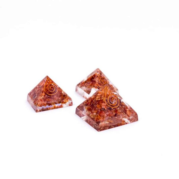 Sunstone Orgonite Pyramid