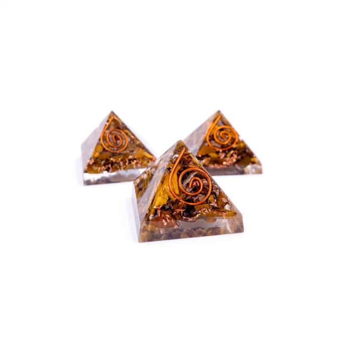 Tiger Eye 1 In Orgonite W900 H900