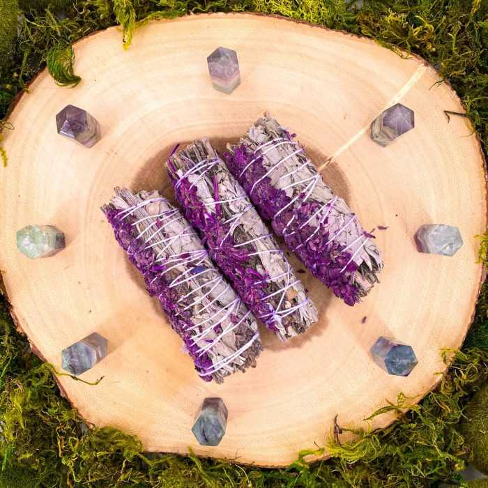 Royal Lavender White Sage Smudge Stick