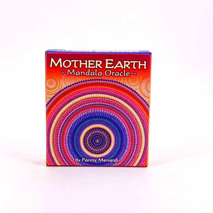 Mother Earth Mandala Oracle Deck Front View