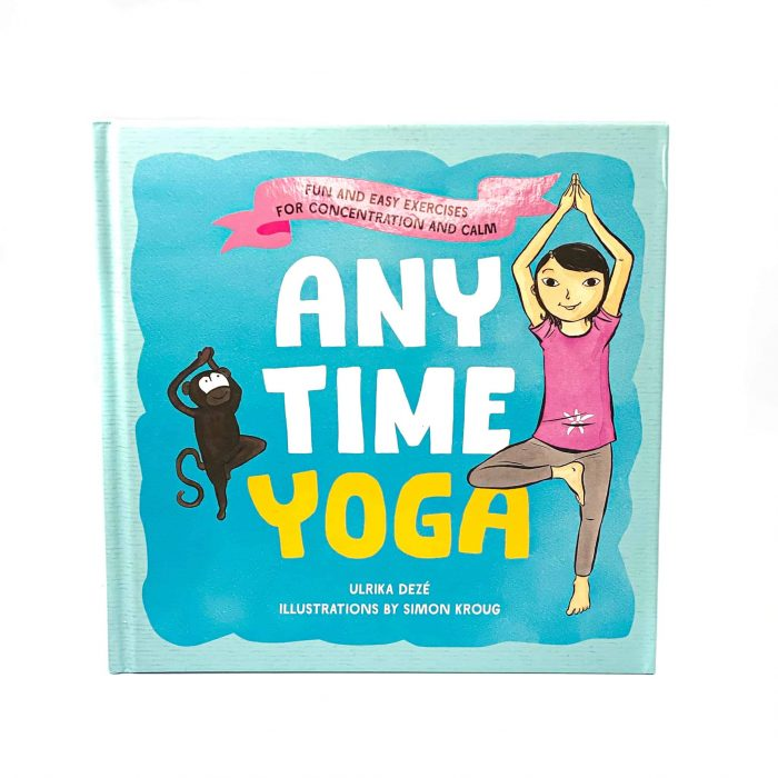 Anytime Yoga Book Front View