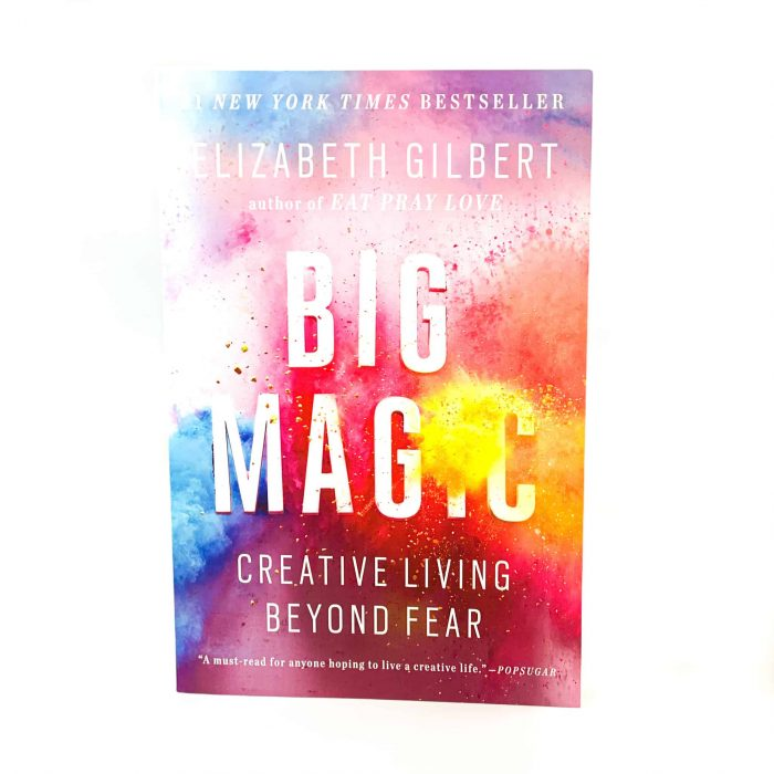 Big Magic Book Front View