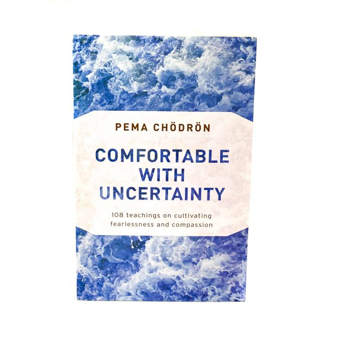 Comfortable With Uncertainty Book Front View