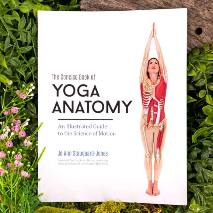 The Concise Book Of Yoga Anatomy