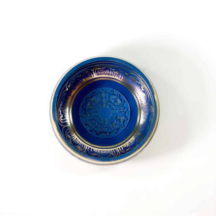 13 Cm Blue Colored Singing Bowl Tallahassee Metaphysical Shop 2 (2)