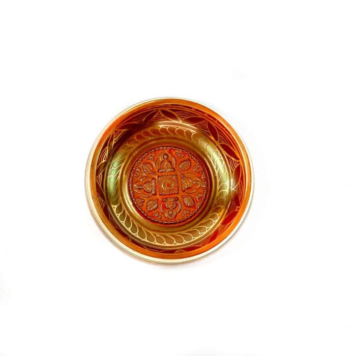 13 Cm Red Colored Singing Bowl Tallahassee Metaphysical Shop 2 (2)