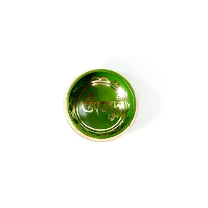 9 Cm Green Colored Singing Bowl Tallahassee Metaphysical Shop 2 (2)