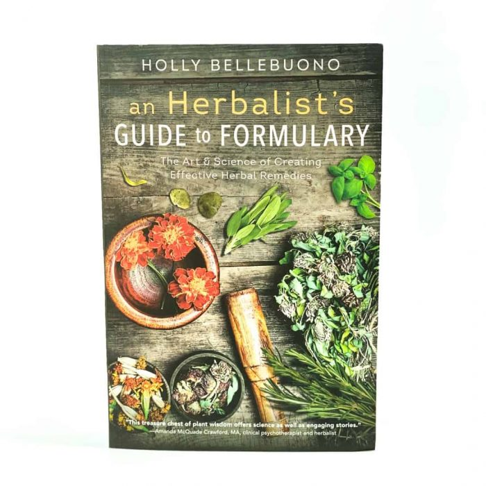 An Herbalist's Guide To Formulary Book Tallahassee Metaphysical Store Front View (2)
