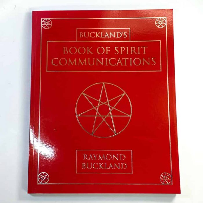 Buckland's Book Of Spirit Communications Tallahassee Metaphysical Store White Front View