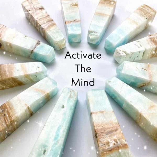 Caribbean Blue Calcite Towers Tallahassee Metaphysical Shop-3