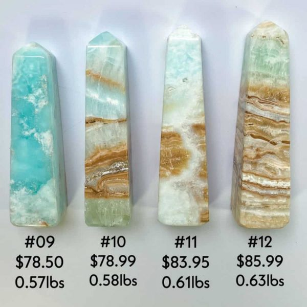 Caribbean Blue Calcite Towers Tallahassee Metaphysical Shop-6