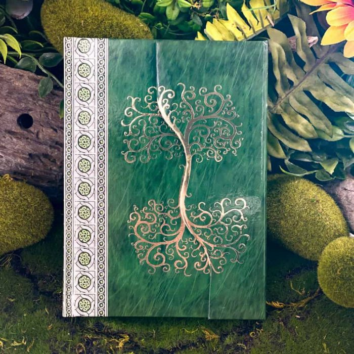 Celtic Tree Green Journal