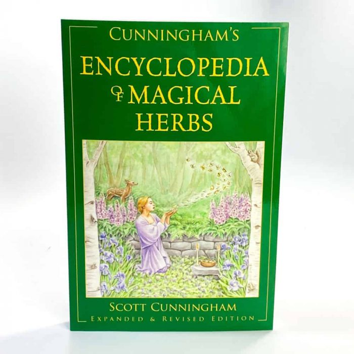 Cunningham's Encyclopedia Of Magical Herbs Tallahassee Metaphysical Shop White Front View