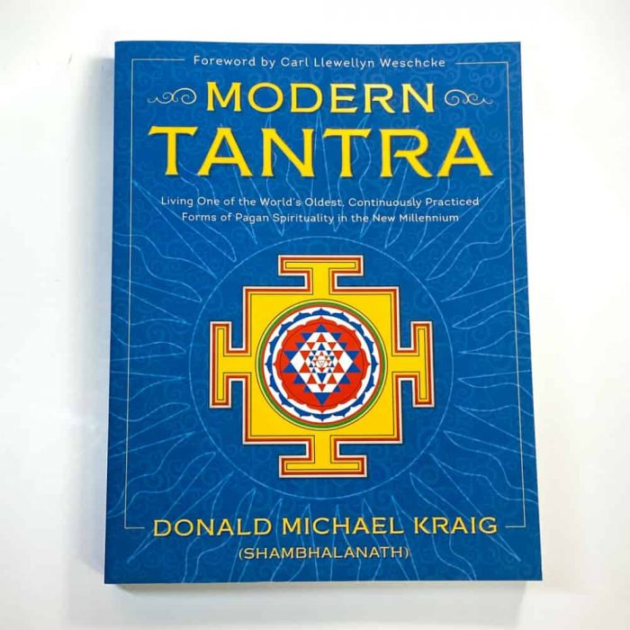 Modern Tantra Book Tallahassee Metaphysical Shop White Front View