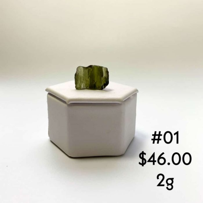 Moldavite Raw Tallahassee Metaphysical Shop #1