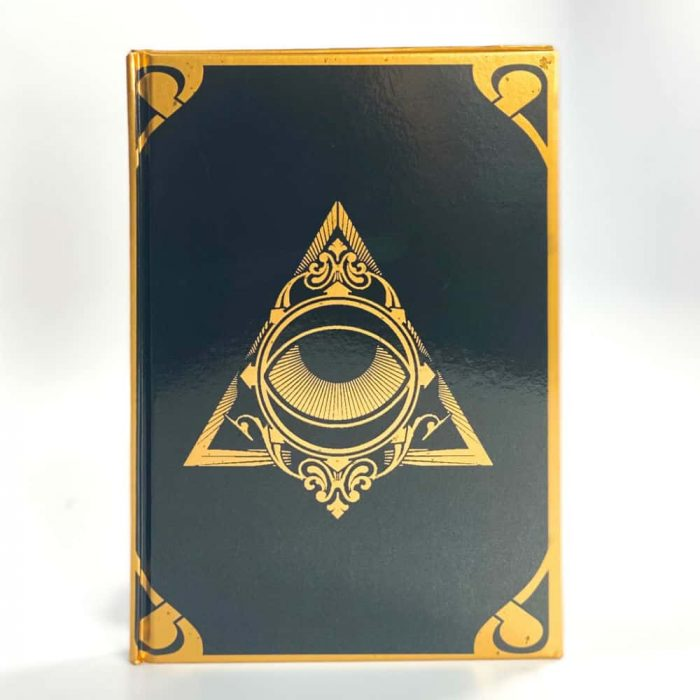 Night Sun Journal Gold Black All Seeing Eye Tallahassee Metaphysical Shop White