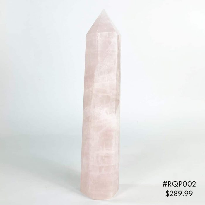 Rose Quartz Point #RQP002