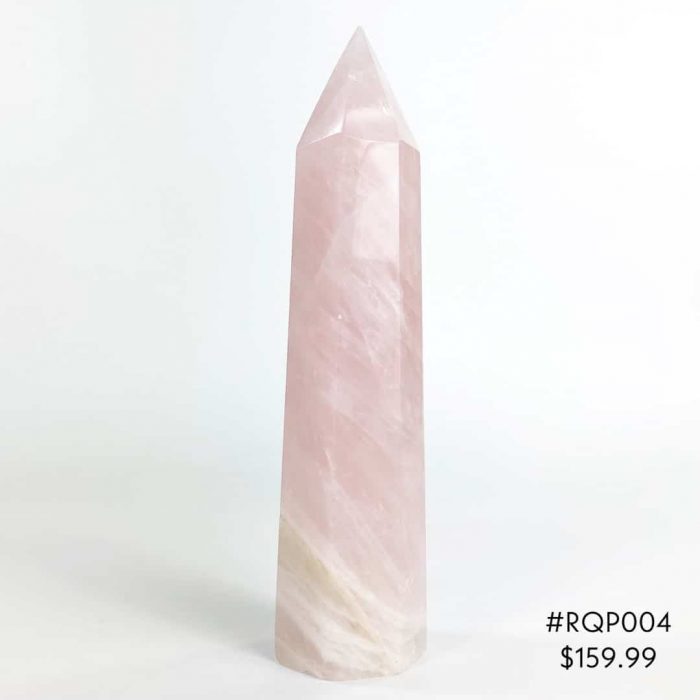 Rose Quartz Point #RQP004