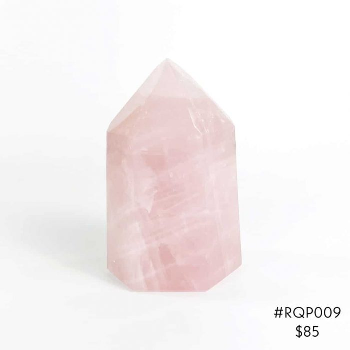 Rose Quartz Point #RQP009