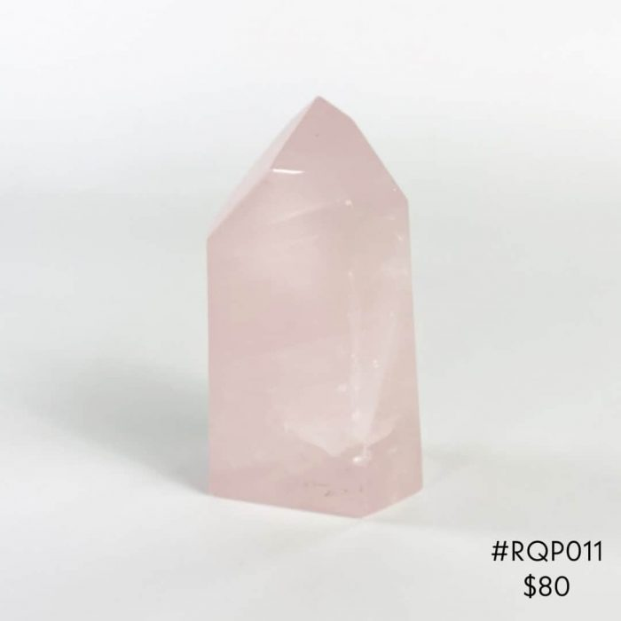 Rose Quartz Point #RQP011